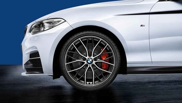 "F22 19"" Style 405M Complete wheel set"