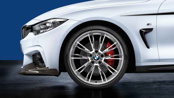 "F32 20"" Style 624 Polished. Complete wheel set"
