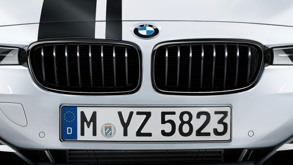 F30 Black Kidney Grilles