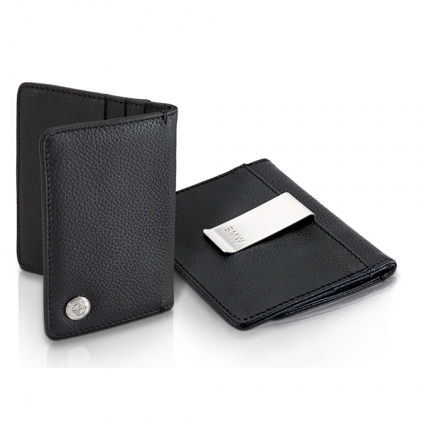 Home Lifestyle Accessories Wallets BMW Business Card and Credit Card Holder with Money Clip