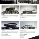 Roof boxes - CLICK HERE
