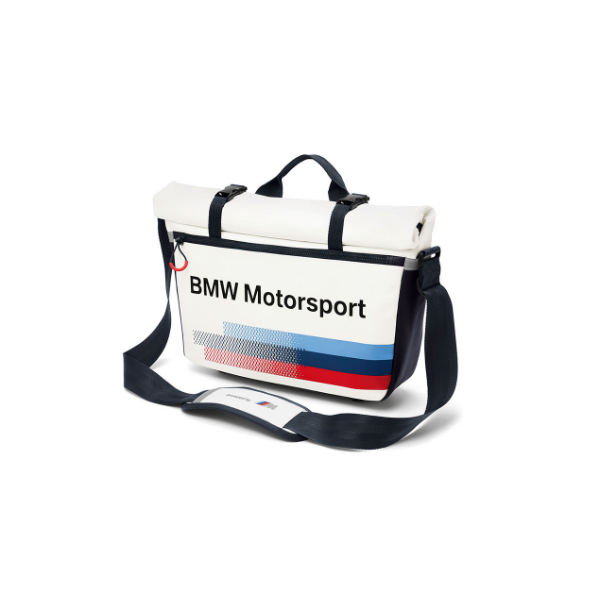 Home Lifestyle Collections BMW Motorsport Accessories BMW Motorsport Messenger Bag