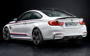 BMW M4 M Performance Carbon Fiber Spoiler