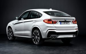 BMW X4 M Performance Spoiler