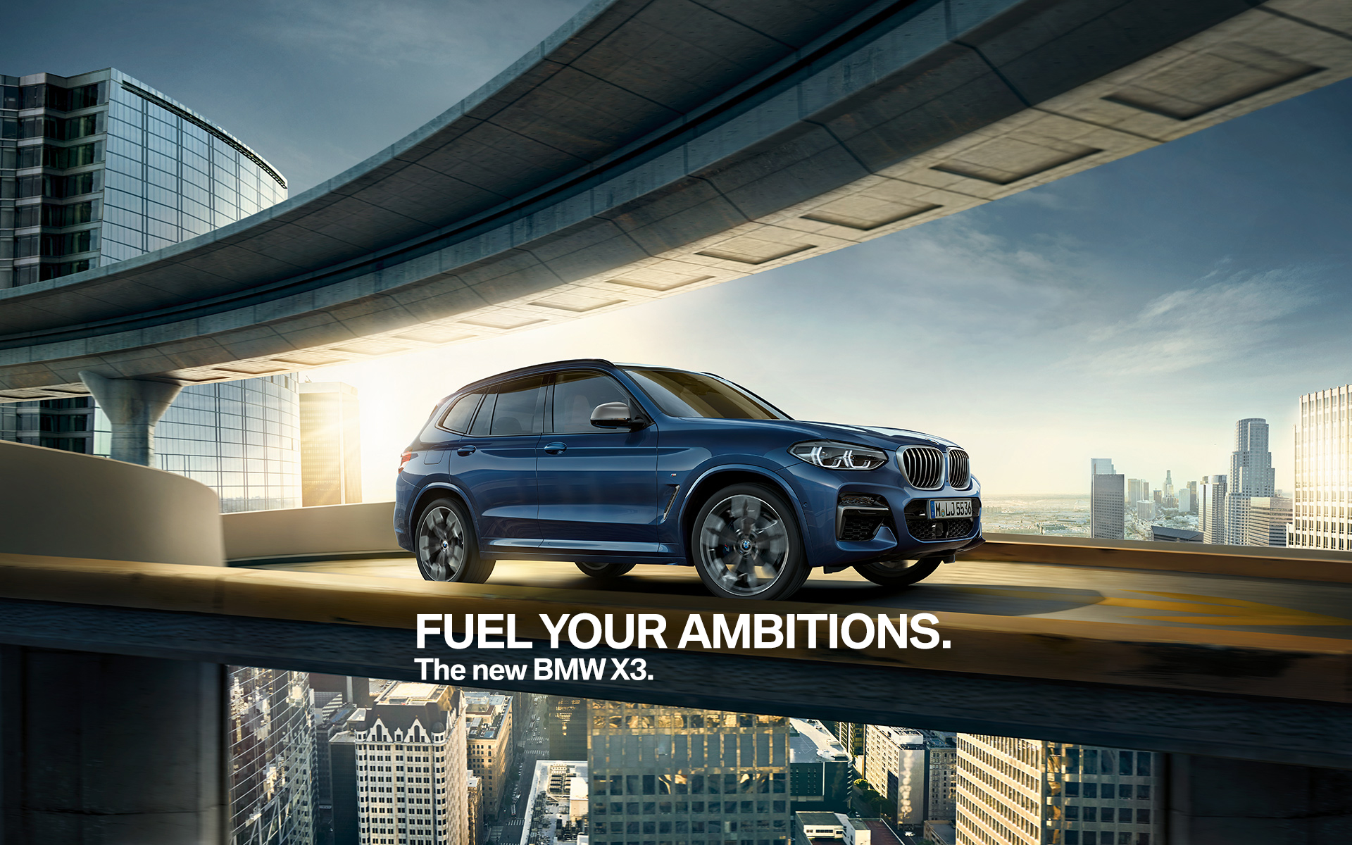 Passion for performance. 2018 BMW X3 M40i