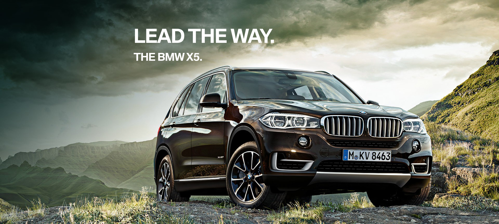 Drive to the limits. 2018 BMW X5 xDrive35i.