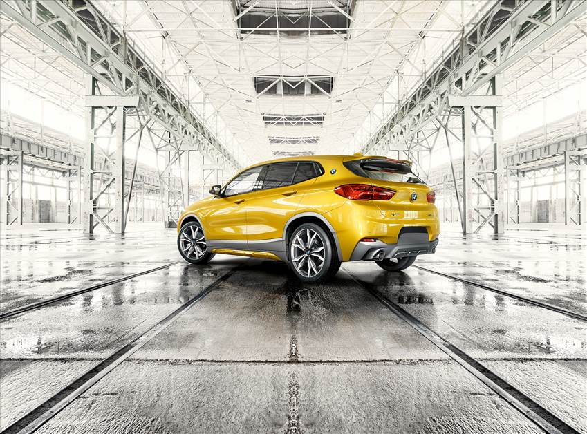 Dare to stand out. The BMW X2.