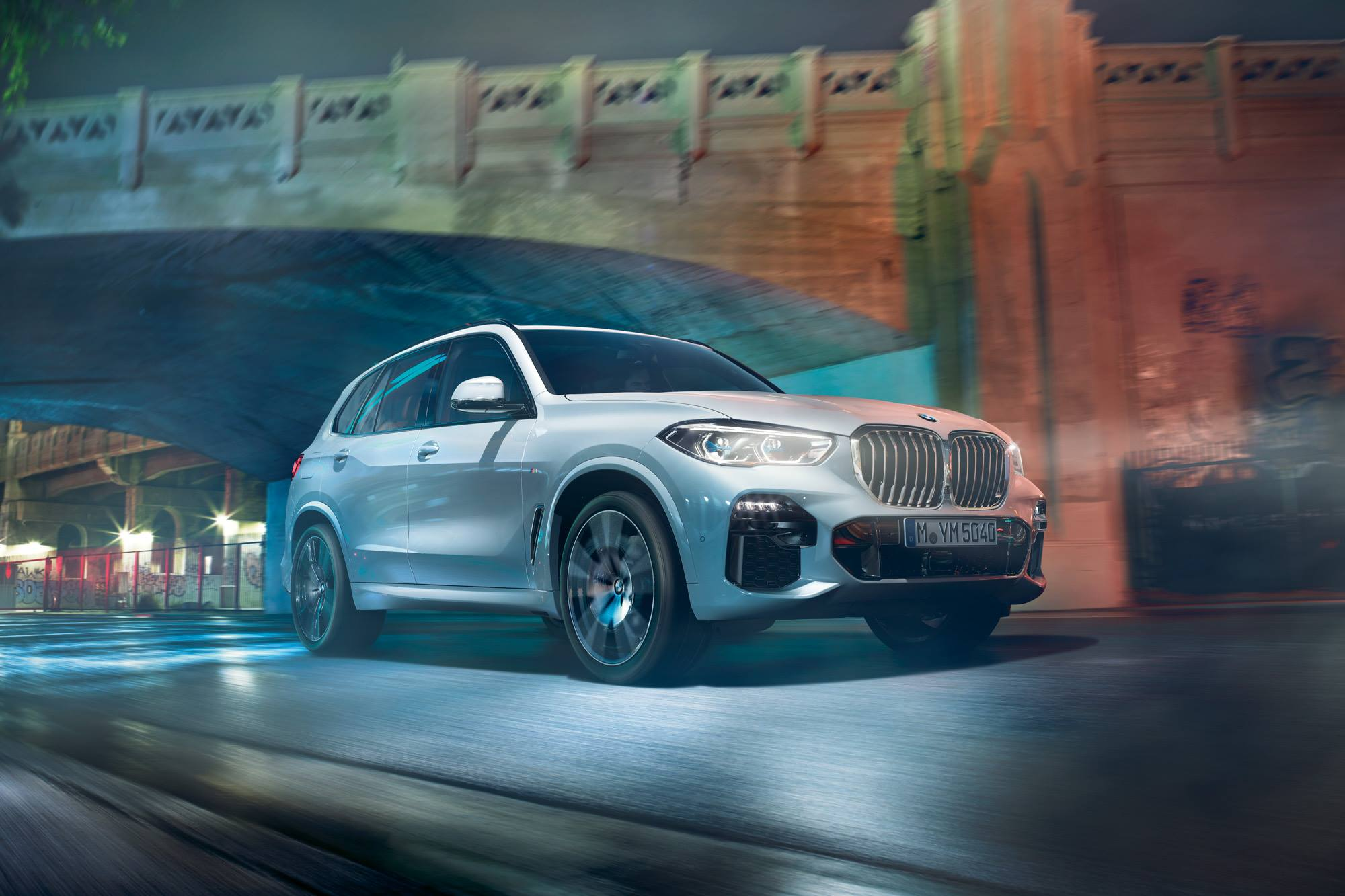 Lead the pack. The all-new BMW X5.