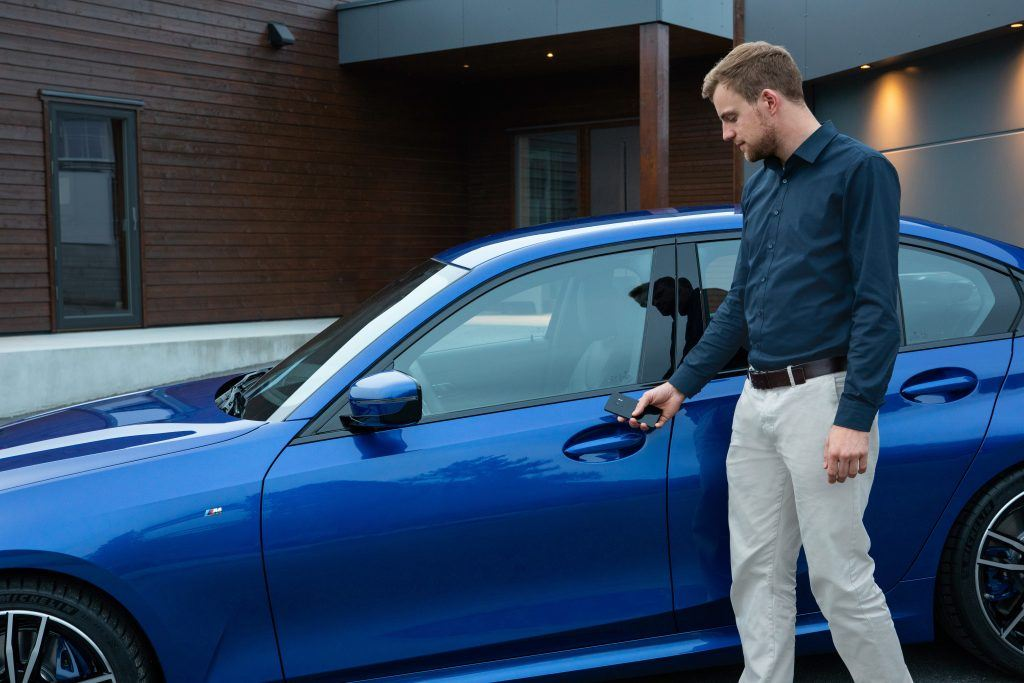 The Digital Key allows you to lock and unlock your BMW and even start the engine without needing a physical key.