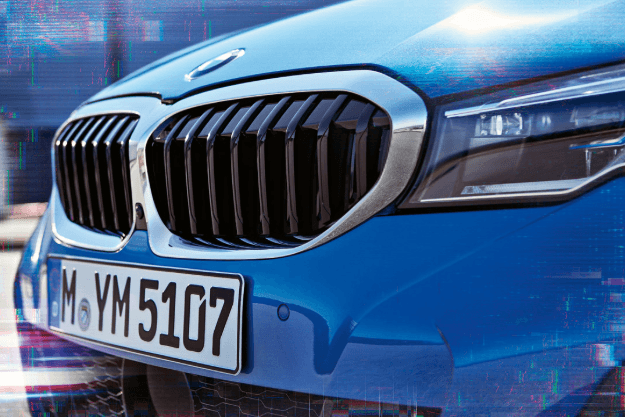 The iconic double kidney grill. Sportier, broader, and more elegant: the new face of the BMW 3 Series.