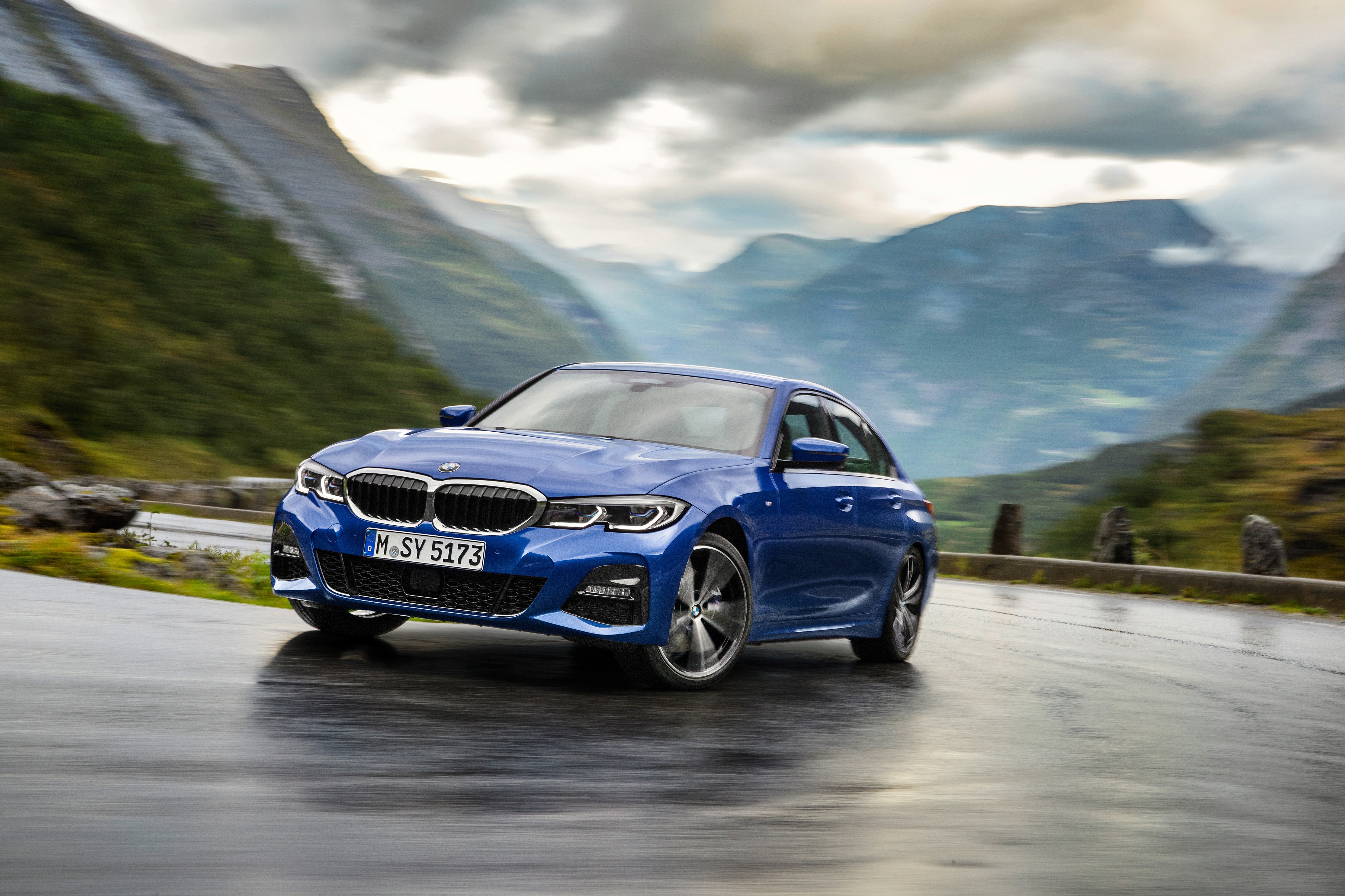 The fastest-ever 3 Series. The all-new BMW 3 Series Sedan.