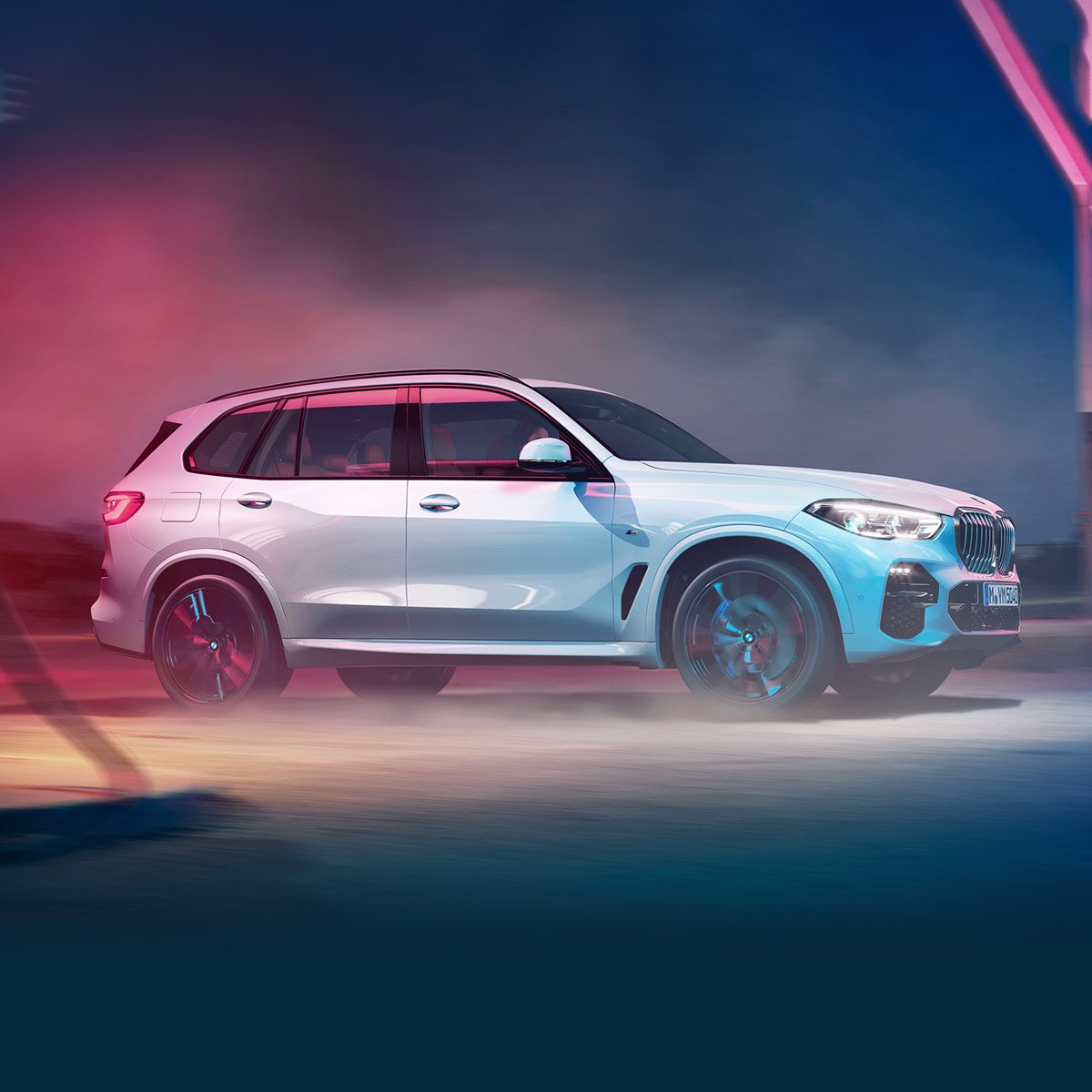 The All-New BMW X5. With standard xDrive All-Wheel Drive.
